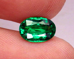 Extremely Gorgeous Top Stone!  1.88 ct Emerald Certified!