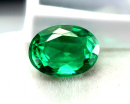 Top Of The Line 1.86 ct Emerald Certified!