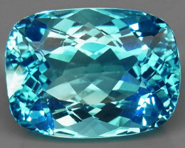 28.00 ct. 100% Natural Earth Mined Top Quality Blue Topaz Brazil