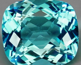 20.26 ct. 100% Natural Swiss Blue Topaz Top Quality Gemstone Brazil