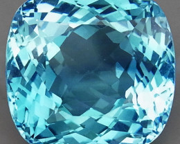 22.50 ct. 100% Natural Swiss Blue Topaz Top Quality Gemstone Brazil
