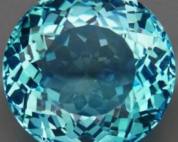 26.02 ct. 100% Natural Swiss Blue Topaz Top Quality Gemstone Brazil