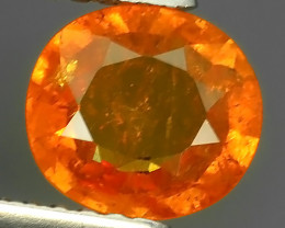 1.20 CTS BRILLIANT! 100%NATURAL HOT ORANGE MANDARIN SPESSARTITE GARNET
