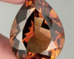 8.60ct Sparkling Caramel Gold Topaz Gem VVS No reserve ~