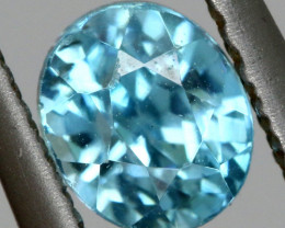 3.80 CTS NATURAL BLUE ZIRCON PARCEL PG-3156