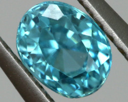 2.22 CTS VVS  BLUE ZIRCON FACETED PARCEL PG-3164