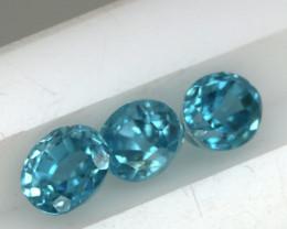 1.85 CTS VVS  BLUE ZIRCON FACETED PARCEL PG-3165