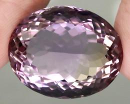 24.90ct Sparkling Pink Mauve Gold Ametrine Amethyst -