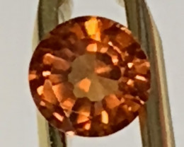 AN AFRICAN ORANGE HESSONITE GARNET