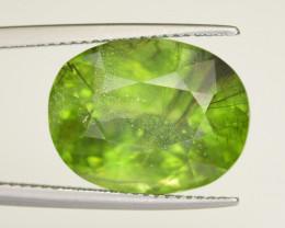 17.05 CT Natural Beautiful Rutile Peridot Gemstone