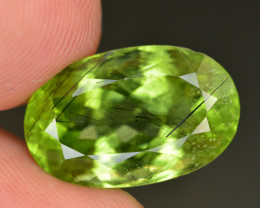 13.95 CT Natural Beautiful Rutile Peridot Gemstone