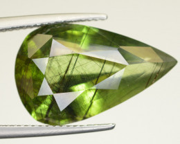 12.05 CT Natural Beautiful Rutile Peridot Gemstone