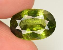 7.80 CT Natural Beautiful Rutile Peridot Gemstone