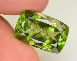17.70 CT Natural Beautiful Rutile Peridot Gemstone