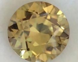 Pretty Custom Cut Yellow Zircon, Cambodia - HM1552