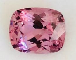Pretty 1.77ct Custom Cut Pink Spinel - Burma     HM2196