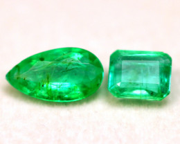 Emerald 1.75Ct Natural Colombian Green Color Emerald BF2416