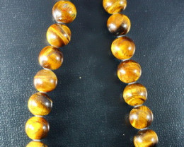 397 ct Unheated ~ Natural Golden Tiger Beads