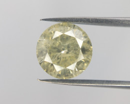 1.01 cts ,solitaire diamond for ring,yellow diamond