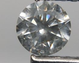 0.63 cts ,Grey Loose diamond,Rare grey gemstone diamond