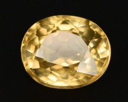 1.35 ct Imperial Zircon Untreated Cambodia