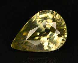 1.25 ct Imperial Zircon Untreated Cambodia
