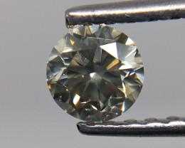 0.51 cts Dark grey diamond,Dark Gray natural diamond