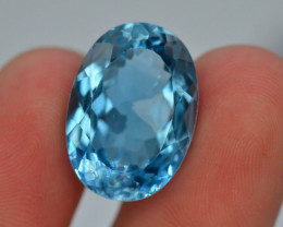 17. Ct Natural BlueColor Swiss Topaz T