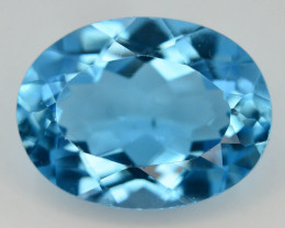 11.55 Ct Natural BlueColor Swiss Topaz T