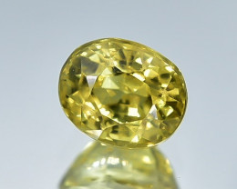 0.99 Crt Natural Chrysoberyl Faceted Gemstone.( AB 04)