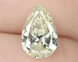 1.11 Cts Untreated Fancy Yellow Natural Loose Diamond