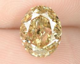 1.28 Cts Untreated Fancy Orange Brown Natural Loose Diamond