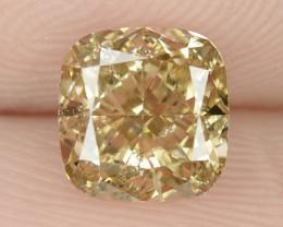 1.21 Cts Untreated Fancy Pinkish Orange Brown Natural Loose Diamond