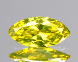 011 Cts Natural Diamond Golden Yellow Marquise Cut Africa