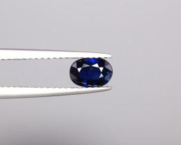 0.68 Cts Nice Colour   Sapphire Gems.