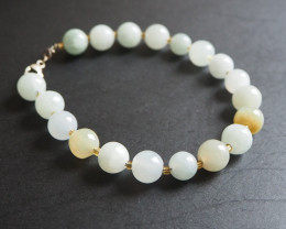 Natural Jade beads  bracelet