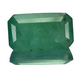 ~RARE~ 11.63 Cts Natural Bluish Green Grandidierite Octagon Madagascar