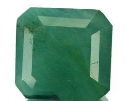 ~RARE~ 15.38 Cts Natural Bluish Green Grandidierite Octagon Madagascar