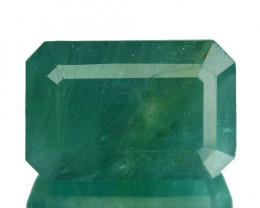 ~RARE~ 14.24 Cts Natural Bluish Green Grandidierite Octagon Madagascar