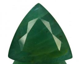 ~RARE~ 17.59 Cts Natural Bluish Green Grandidierite Trillion Madagascar