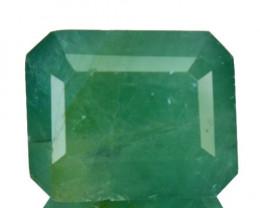 ~RARE~ 21.74 Cts Natural Bluish Green Grandidierite Octagon Madagascar