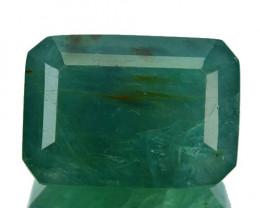 ~RARE~ 21.10 Cts Natural Bluish Green Grandidierite Octagon Madagascar