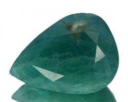 ~RARE~ 16.77 Cts Natural Bluish Green Grandidierite Pear Madagascar