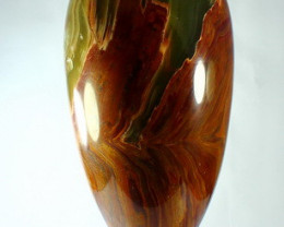 14370 CT Natural Onyx Carved Vase Special Shape