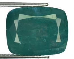 ~RARE~ 26.73 Cts Natural Bluish Green Grandidierite Cushion Madagascar