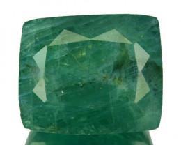 ~RARE~ 25.68 Cts Natural Bluish Green Grandidierite Cushion Madagascar