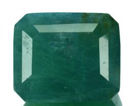 ~RARE~ 26.66 Cts Natural Bluish Green Grandidierite Octagon Madagascar