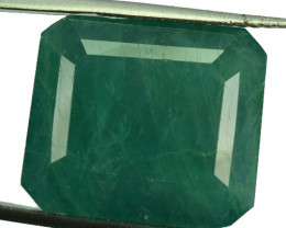 ~RARE~ 37.68 Cts Natural Bluish Green Grandidierite Octagon Madagascar