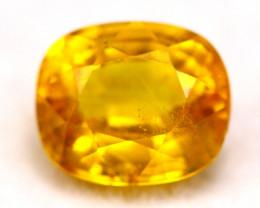 Yellow Sapphire 1.31Ct Natural Yellow Sapphire B2708