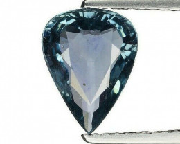 GRA Certified Greenish Blue Sapphire - 2.05 ct